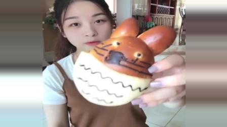 龙猫面包, 好可爱啊