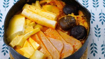 酸甜辣超够味 韩式泡菜锅