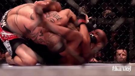 拳手抱摔对手后半空中换十字固, 瞬间降服对手惊艳全场!