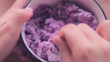 红薯南瓜糯米丸子的做法『孤独的美食家』
