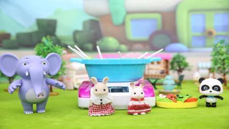 宝宝巴士玩具 第61集 美食争霸赛
