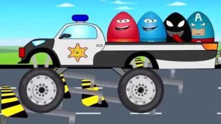 越野车竞速赛 赛车总动员 挖掘机 推土机 吊车 大卡车 汽车总动员动画片中文版