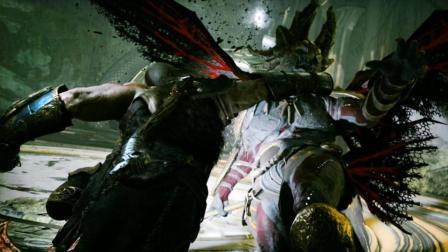 纯黑《战神4》最高难度无伤攻略解说 第四期