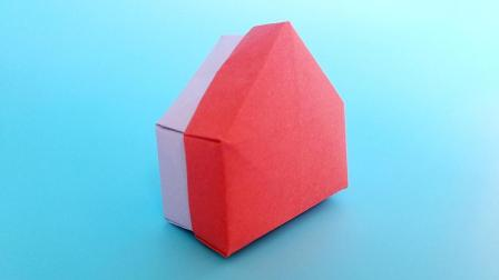 折纸王子大全 简单折纸 教你折纸房屋盒子  儿童喜欢的手工折纸
