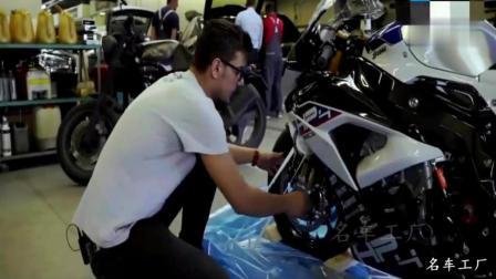 土豪花80万买的宝马摩托车, 开箱的那一刻才知道有多霸气