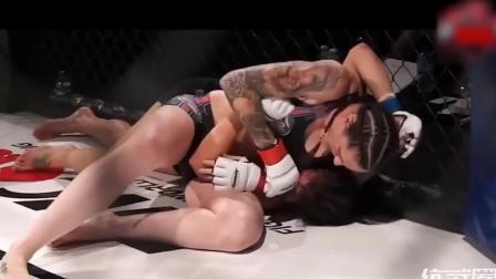 拳坛女将! 在擂台上发起狠来比男人还猛!