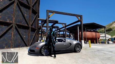GTA5 游戏模组布加迪威龙, 这辆车价值多少钱?
