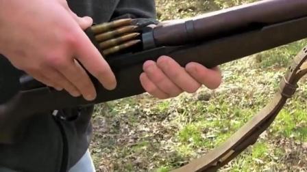 伽兰德步枪能连射? 长见识了, 外国小哥还真会玩