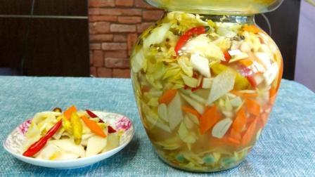 腌制四川泡菜有诀窍, 掌握这几点, 酸脆不生花, 放一年都不会坏!