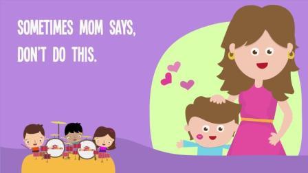 唠叨妈妈, 妈妈母亲节快乐! Sometimes Mom Says- Happy Mothers Day
