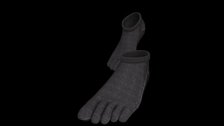 强度堪比钢铁的袜子, 家里有了它, 谁出门还穿鞋啊?