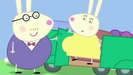小猪佩奇之瑞贝卡告诉佩奇一个秘密, 妈妈怀孕肚子里的宝宝踢佩奇