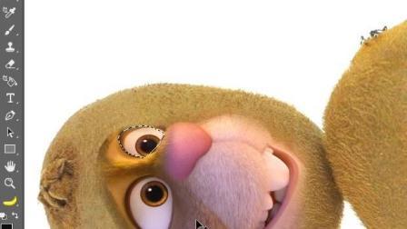 PS创意水果猕猴桃合成作品, 让我们2分钟快速制作QQ表情包