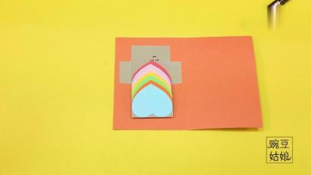 母亲节礼物, 自制创意贺卡, 快给妈妈一个惊喜吧