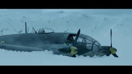 白色严冬:德国战机坠毁雪地,士兵跋涉寻出路!