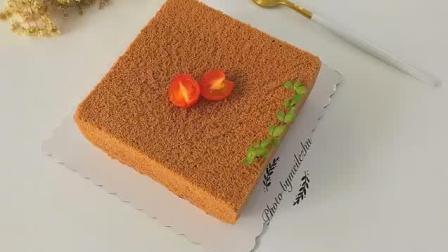 超完美8寸可可戚风蛋糕