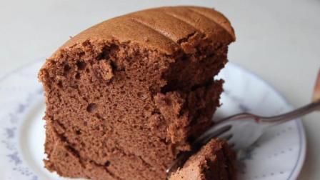 巧克力蛋糕的详细做法, 这样烤出来, 蓬松爽口, 不用再买蛋糕了