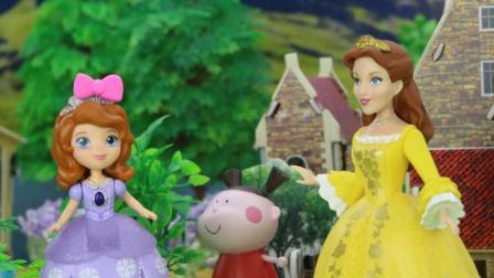 小趣送小公主苏菲亚神奇蝴蝶结, 蝴蝶结变成蝴蝶帮助苏菲亚回家