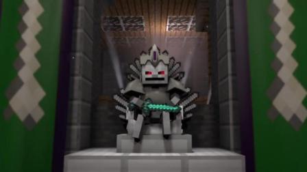 我的世界动画 当玩家对骷髅王国发起进攻后 骷髅王出手了