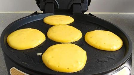 酸奶鸡蛋饼的做法, 简单快速, 小饼酸甜适口, 吃了一次还想吃