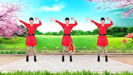 广场舞《全民舞起来》欢快飞扬, 轻松活泼, 32步附口令教学轻松学会