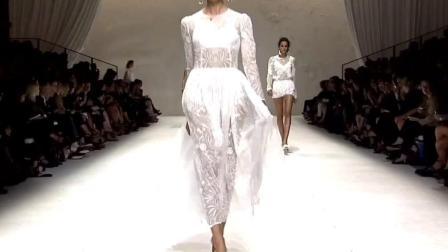 法国巴黎时装秀   白色系