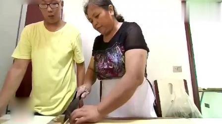 传统美食: 纯手工制作香酥麻花, 大妈好手法, 看起来好像很简单