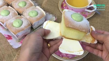 教你做北海道绿茶杯子蛋糕, 松软可口, 味道超好吃