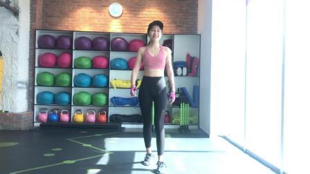 第八天: 瘦手臂肩膀, 充分利用时间经期也可以练!