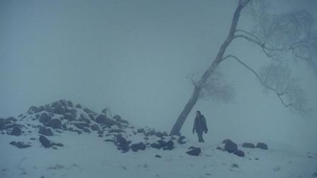清晨, 父亲抱着石头跳进冰河