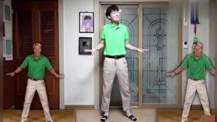 韩国吃药小哥来教你跳瘦身舞了, 一起在精分中欢脱地甩肉吧!