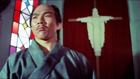 跆拳震九州岛 《跆拳震九州》  凶恶日本人闯教堂打人 被洋妞胖揍