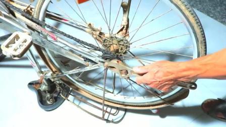 如何将一辆自行车改成电动车