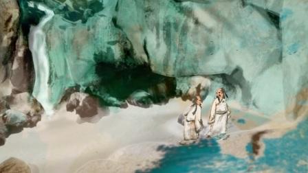【香港春季拍卖】3D视角观赏张大千泼墨作品《观泉图》
