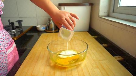 2个鸡蛋1杯酸奶, 不加一滴水, 做出酸甜可口的小饼子, 真好吃