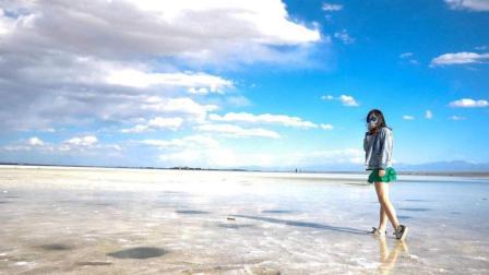 """中国版""""天空之镜""""就在青海的茶卡盐湖, 只要浙江人去参观都免费"""