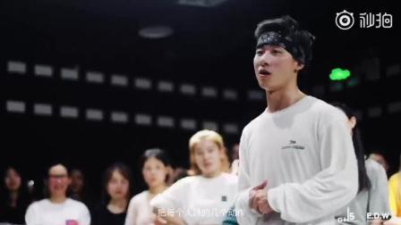 一大波美女学员, 这就是街舞韩宇的老师胡浩亮的教学课, 快来学几招