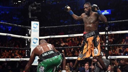 三次击倒KO金刚奥提兹, 拳王维尔德彻底证明了自己的实力