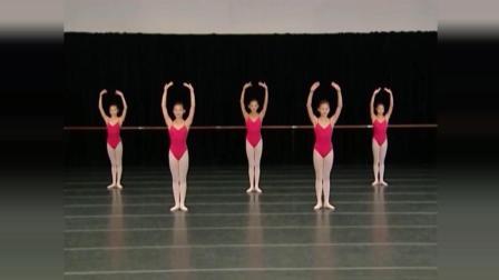 上海舞蹈学校中国舞基本功训练女班第1课例21、手位练习