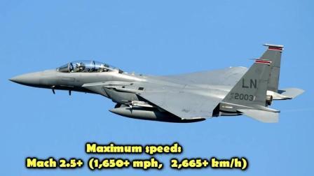 世界上速度最快的5种战斗机展示, 中国战斗机名列其中!