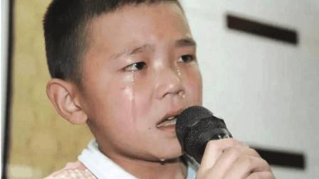 8岁孩子含泪一首《妈妈我想你》, 唱哭无数父母, 泪水止不住流!