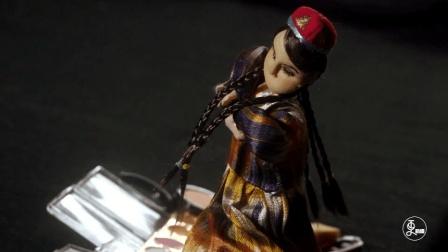 """她自创绣塑工艺, """"新疆布娃娃""""一做就是30年"""