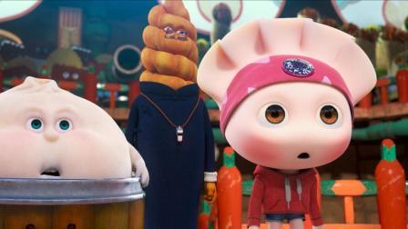 小柯为吃货代言 包子和饺子表演不一样的《吃货宇宙》