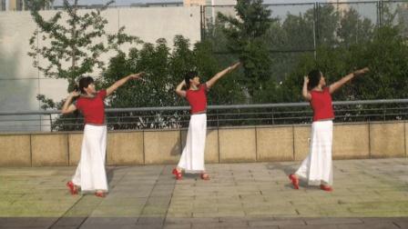 最适合中老年人跳的健身步子舞, 简单好学! 广场舞《雨中的思念》