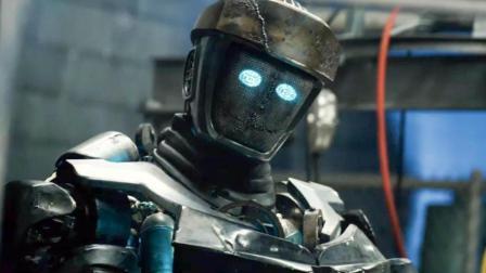"""小男孩垃圾场捡到一个""""废铁"""", 改造后, 打败了超强的宙斯机器人"""