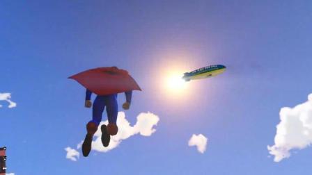 GTA5: DC一哥超人能不能打得赢漫威一霸绿巨人