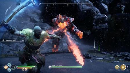 战神四 雷神可选任务(摧毁雷神的雕像) PS4通关视频