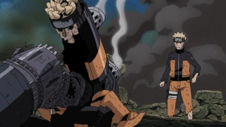 机械九尾实力太强, 机械鸣人决定牺牲自己与其同归于尽!