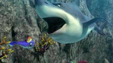 海底大冒险2:鲨鱼群小黄鱼弄,海龟骑着神龙前往营救!
