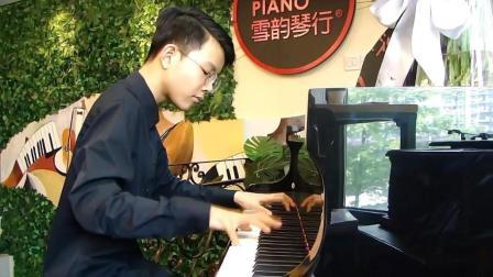 向吕老师汇报钢琴演奏之二: 《苦尽甘来》(自创作品第三稿) 18.05.15